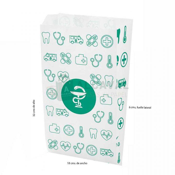 sobres de papel grandes para farmacias