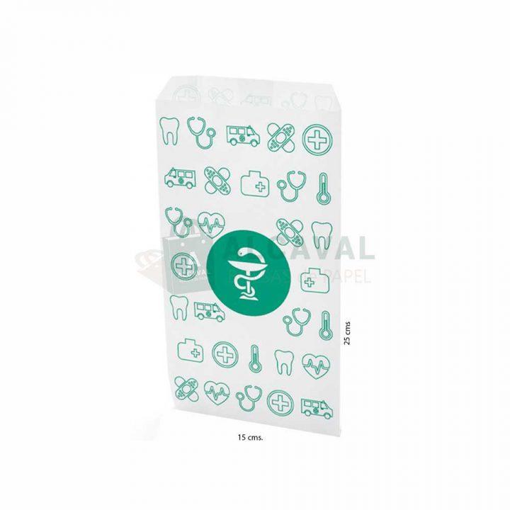 sobres de papel pequeños para farmacias