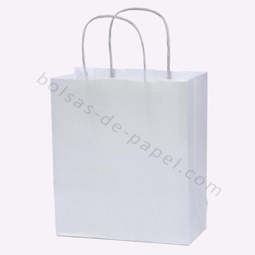 bolsa de papel asa retorcida