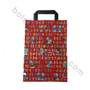 Bolsa para regalos con diseño de pitufos