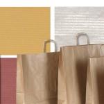 bolsa papel y los conceptos de asa plana o papel verjurado