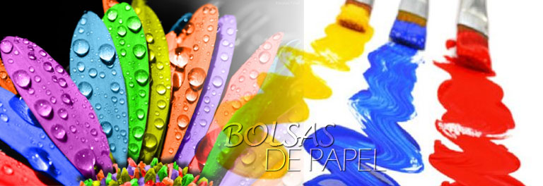 articulo marketing color para bolsas papel