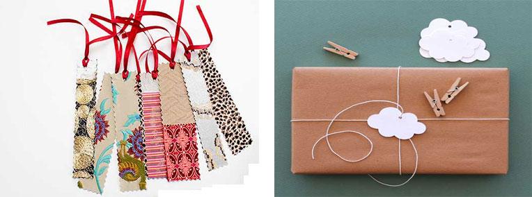 Etiquetas diy para navidad bolsas de papel for Regalos originales para navidad manualidades