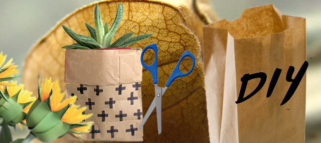 bolsas de papel diy