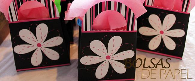 Bolsas de papel infantiles