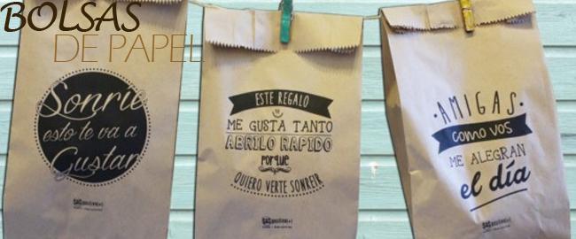 envoltorios y bolsas de papel para el dia del amigo