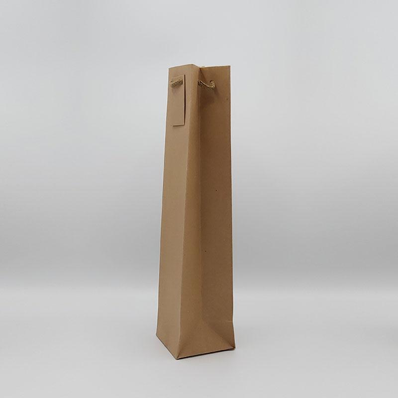 bolsa de papel sin ventana para 1 botella grande
