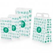 bolsas de papel para farmacia