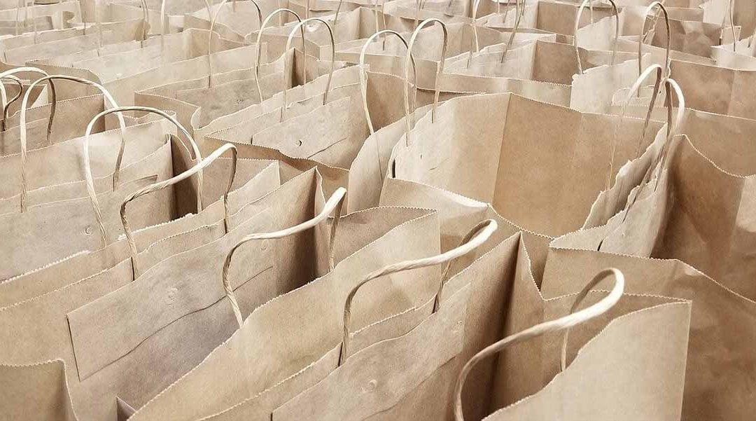 Aumenta un 35% el uso de bolsas de papel