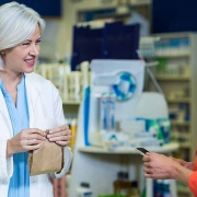 bolsa de papel para medicamentos y farmacia